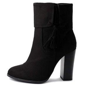 NWT Ollio High Heel Ankle Boots